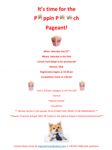 Poppin' Pooch Pageant @ American Red Cross | Marion | Ohio | United States