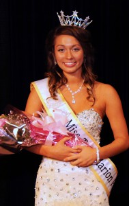 2014 Miss Teen Popcorn Hanah Reiff was crowned in festivities at River Valley High School Saturday night, August 16, 2014.