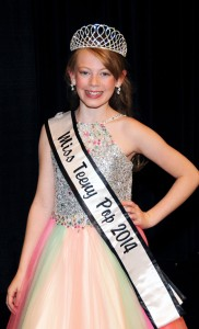 2014 Miss Teeny Pop Olivia Fogle