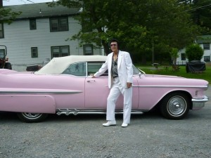 Elvis' Lost Brother pink cadillac