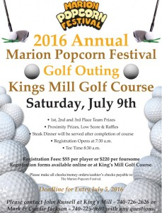 Golf Outing @ King's Mill Golf Course | Waldo | Ohio | United States