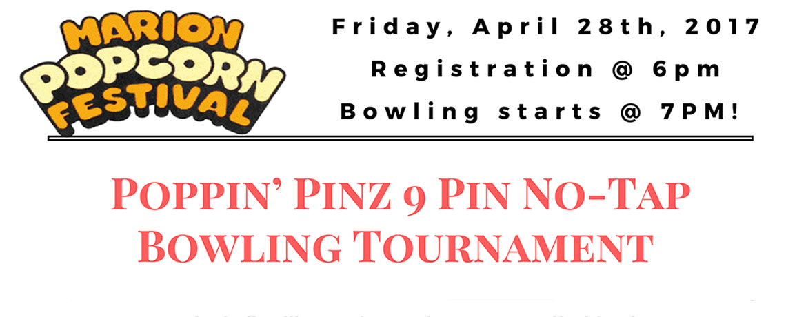 2016 Poppin Pinz Bowling Tourney is July 22