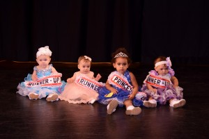2016 Miss Little Wee Pop and Court (left to right): 3rd Runner-Up Finnley Payne, 1st Runner-Up Mila Homan, Little Wee Pop Princess 2016 Kaysen Galbert, and 2nd Runner-Up Mackenna Culp.