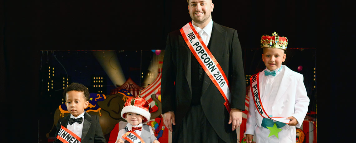 Robb Koons Crowned First Mr. Popcorn