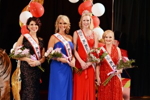 2016 Ms. Marion Popcorn Festival & Court (left to right): 3rd Runner-Up Jennifer DeGood, 1st Runner-Up Michelle Maynard, Ms. Marion Popcorn Festival 2016 Kim Bradshaw, 2nd Runner-Up Stacie Hines.