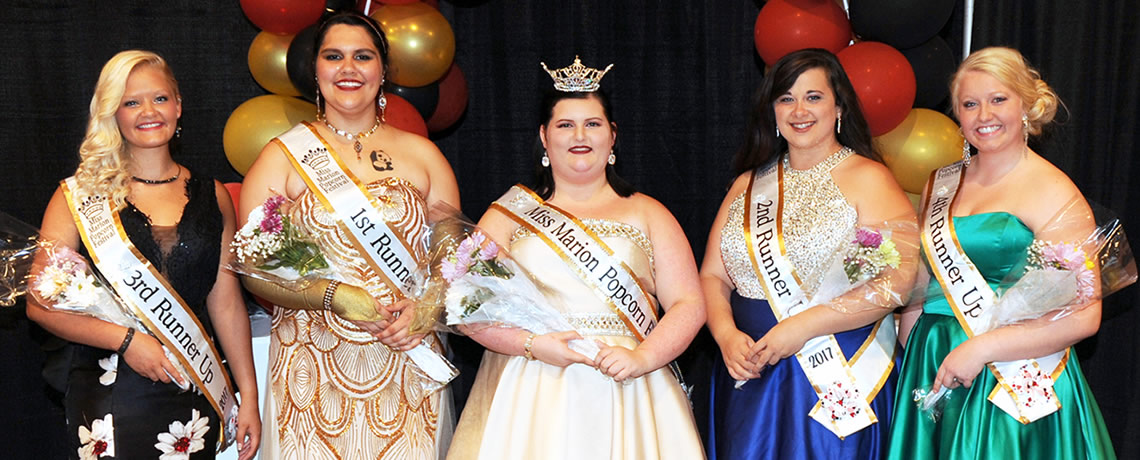 Wallace Crowned 2017 Miss Marion Popcorn Festival