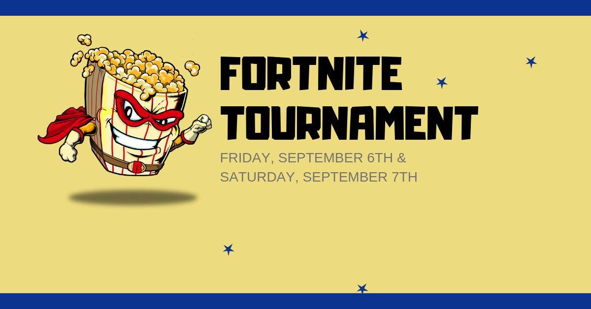 Fortnite Tournament - Marion Popcorn Festival